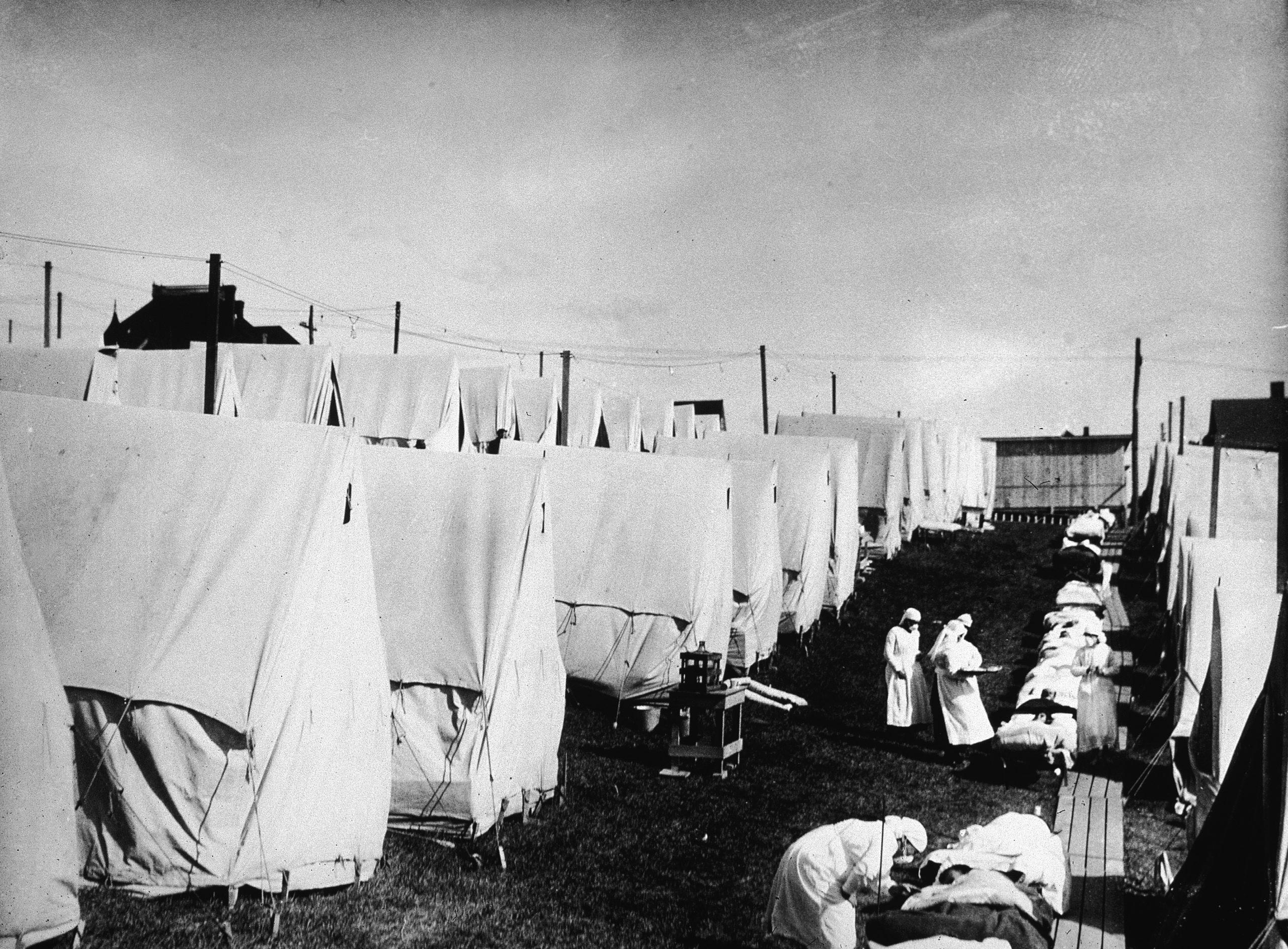 Испанский грипп, 1918