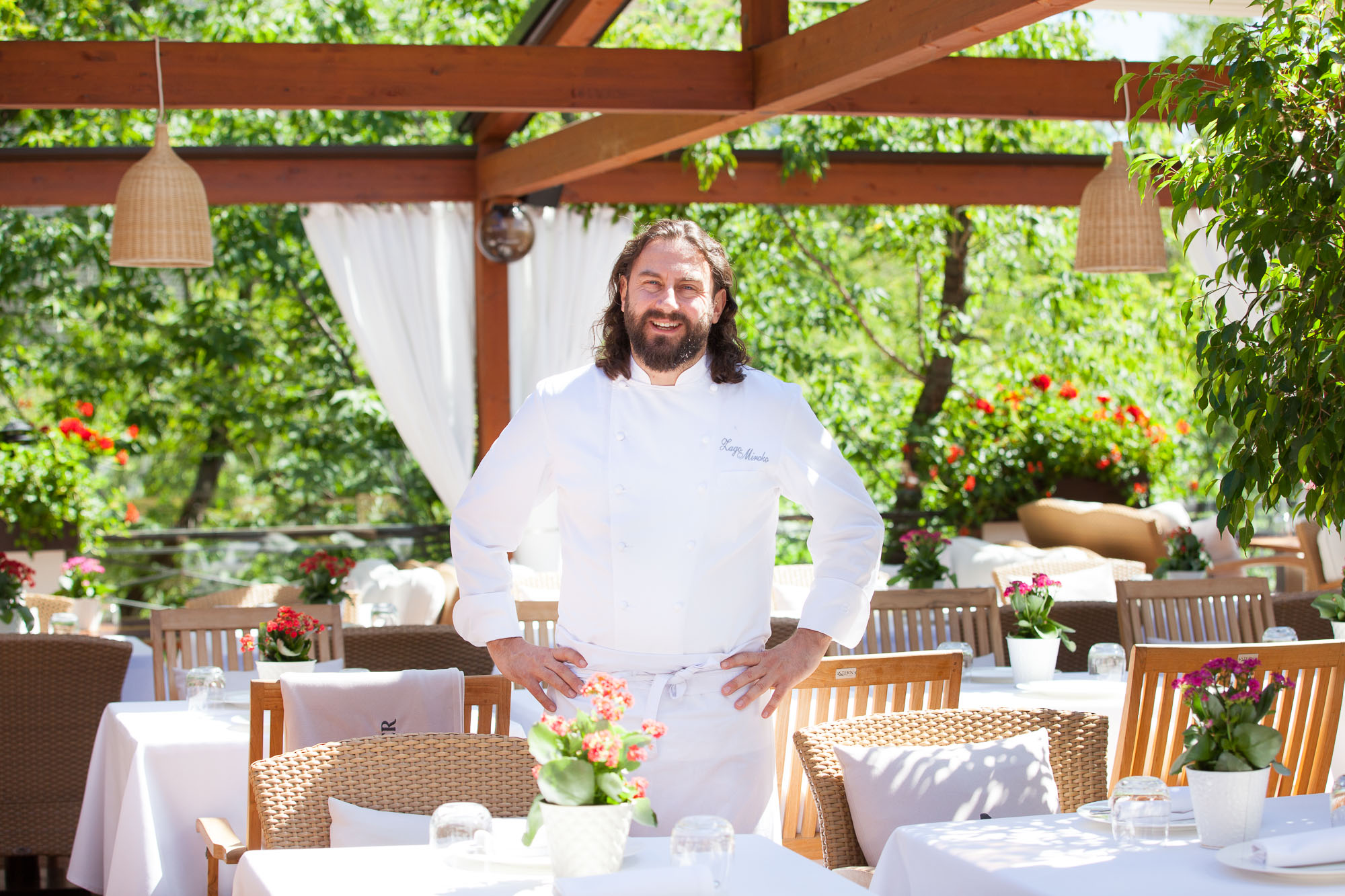 Мирко Дзаго, шеф-повар ресторанов «Аист», Bro&N, La Fabbrica, Officina и судья шоу «Мастер шеф»