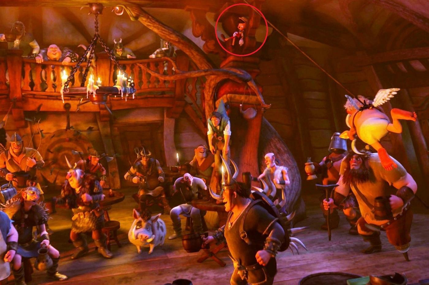 Пиноккио в «Рапунцель»