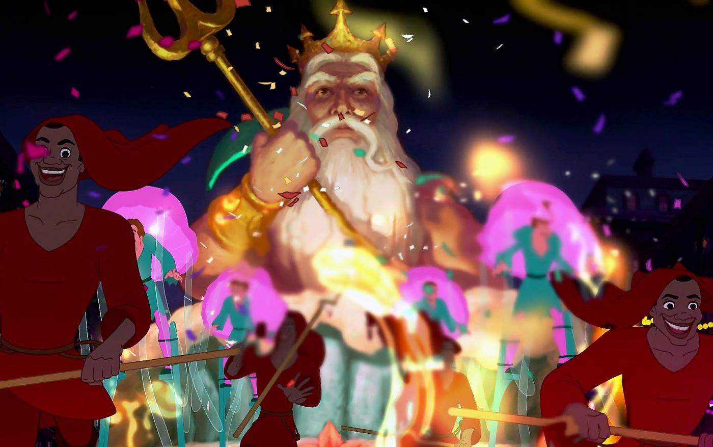 Царь Тритон в «Принцессе и лягушке»