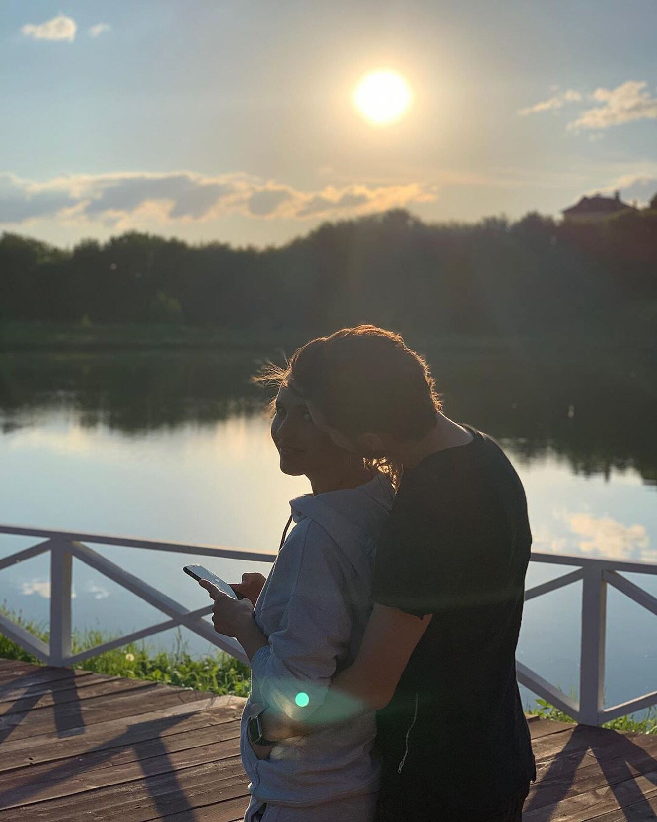 Наталья Горожанова и Александр Гринев