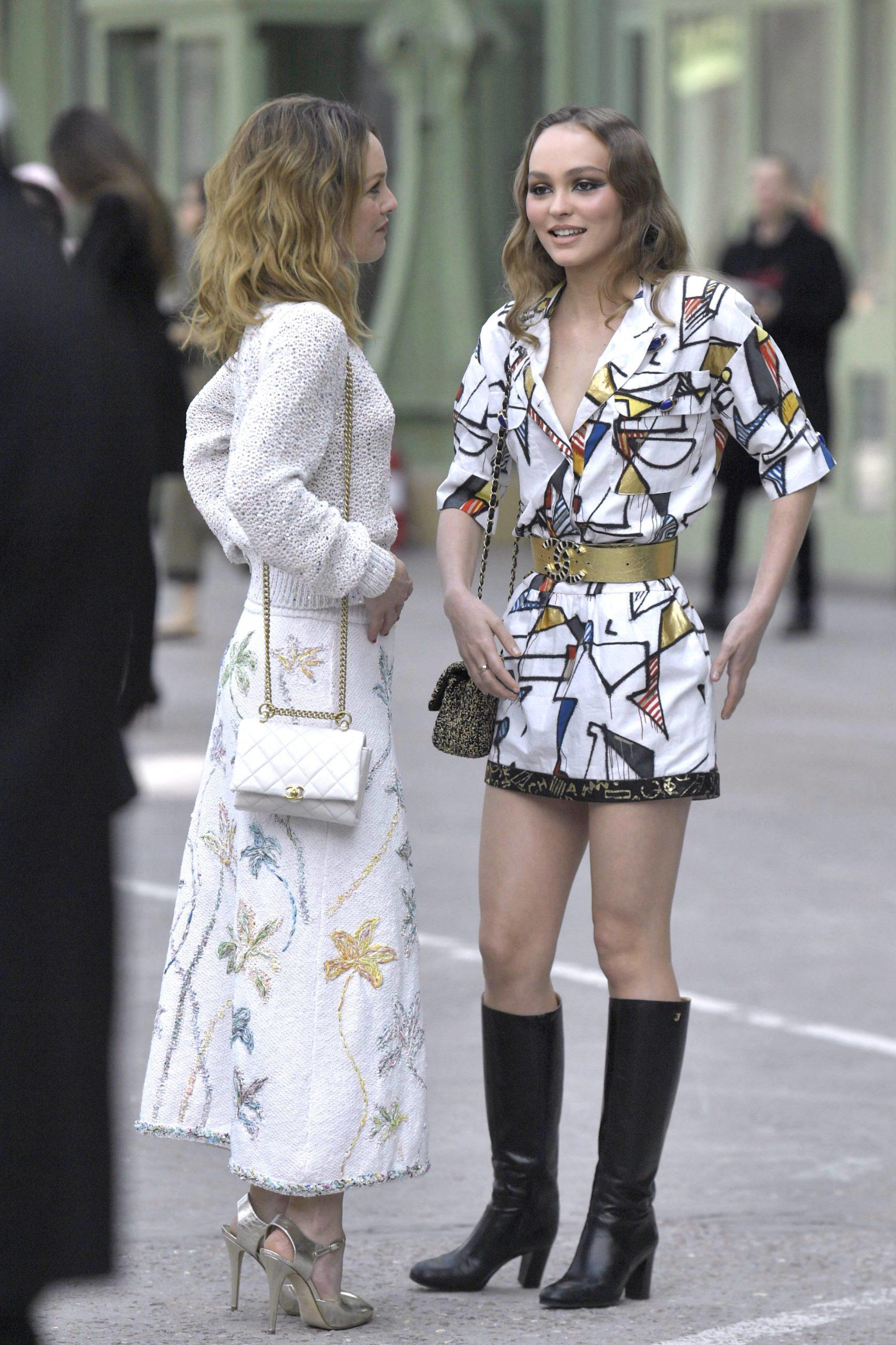 Ванесса Паради и Лили-Роуз Депп (Фото: legion-media.ru)