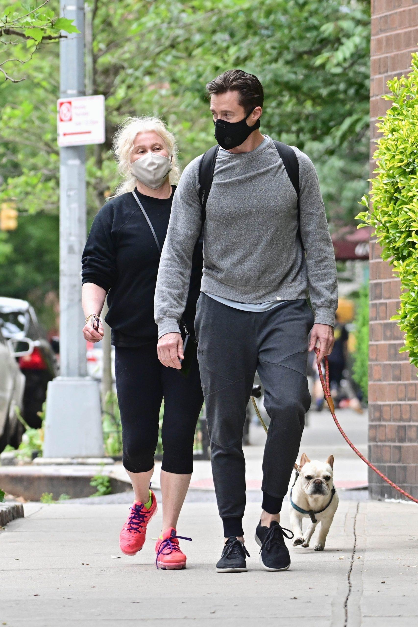 Хью Джекман с женой (Фото: Legion-media)