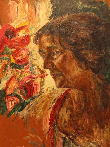 Маневич Абрам «Портрет жены художника»