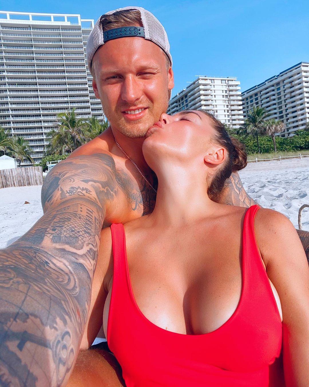 Янис Тимма и Анна Седокова (Фото: Instagram / @annasedokova)