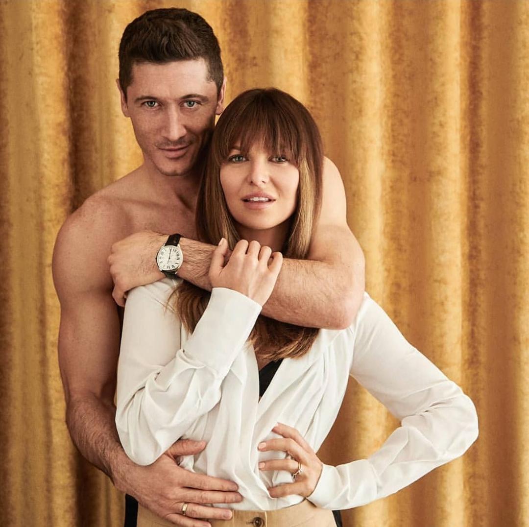 Анна и Роберт Левандовски