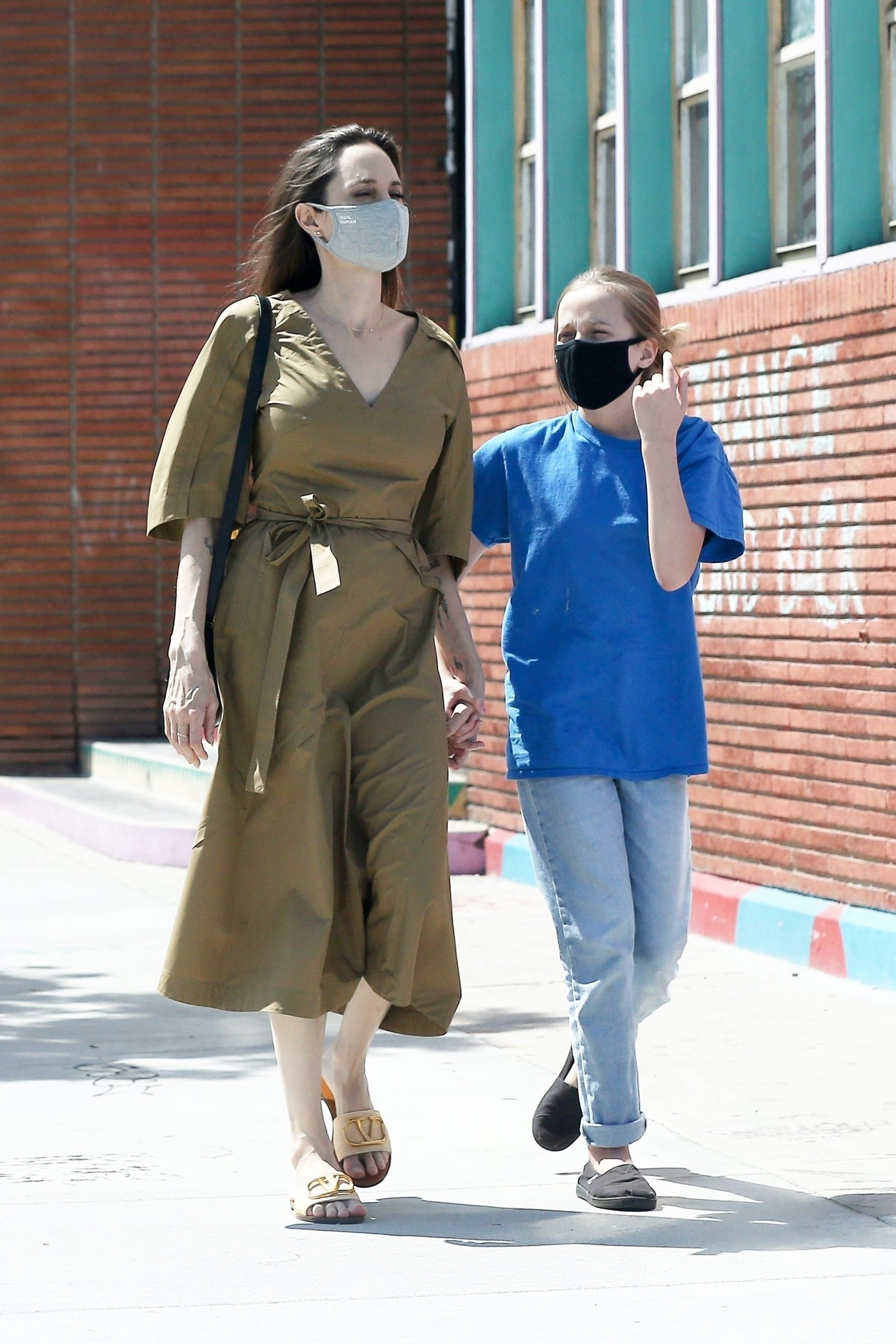 Анджелина Джоли с Вивьен (Фото: legion-media.ru)
