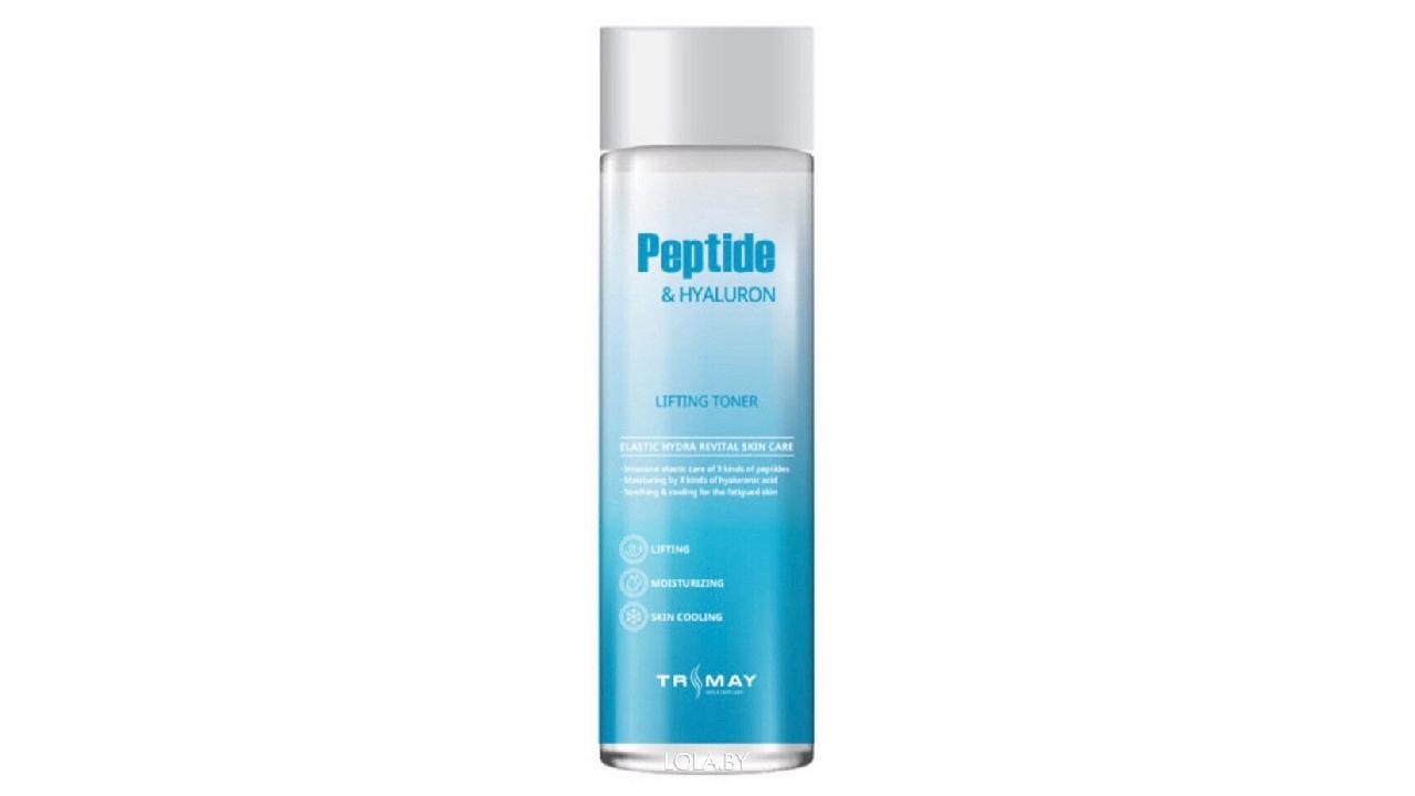 Тонер TRIMAY Peptide & Hyaluron Lifting Toner