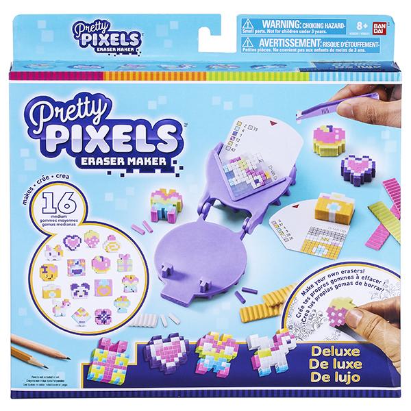 Pretty Pixels 38530, Студия для создания фигурных ластиков «Много друзей не бывает»