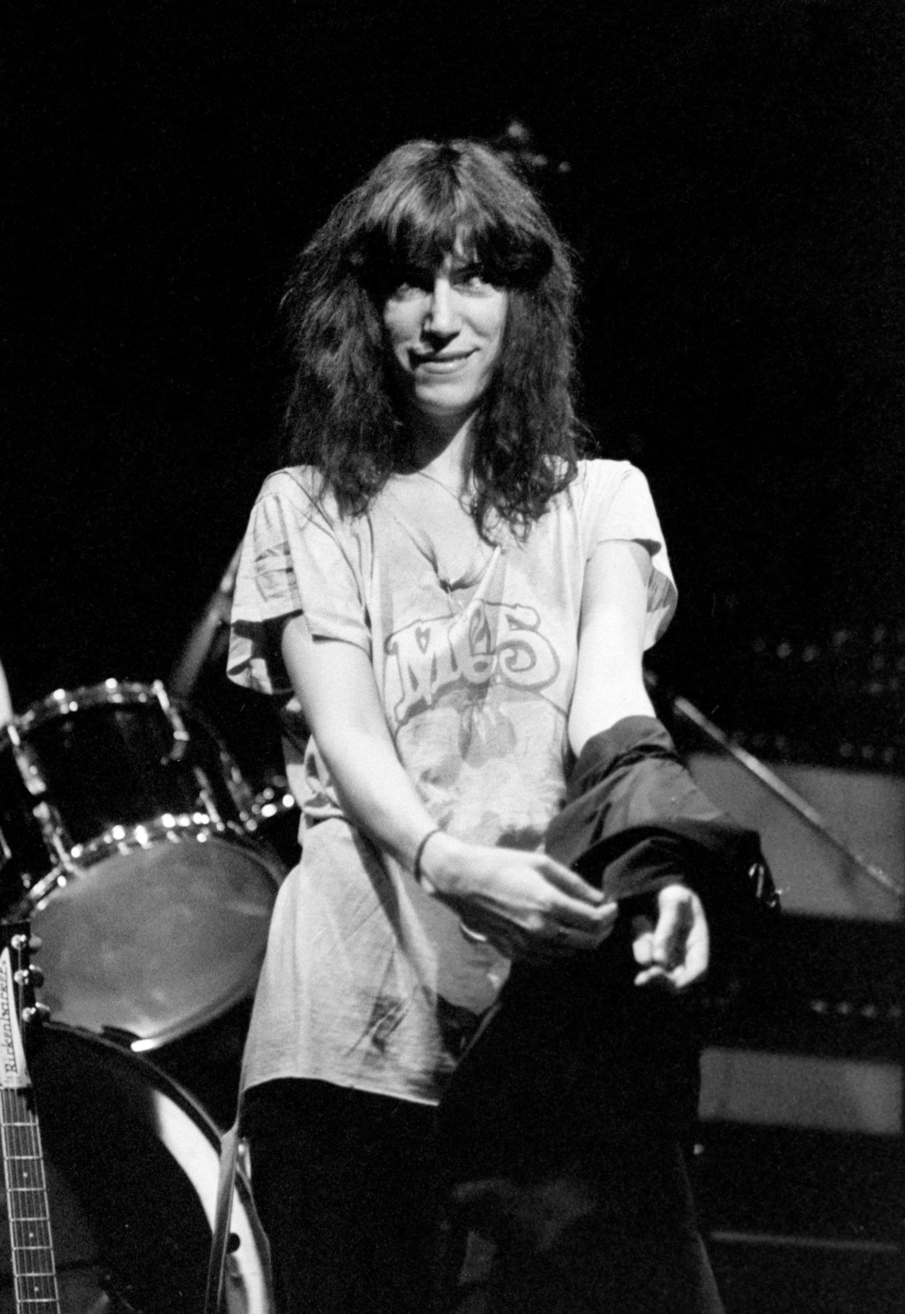 Патти Смит 1978 году на концерте. Фото: legion-media.ru