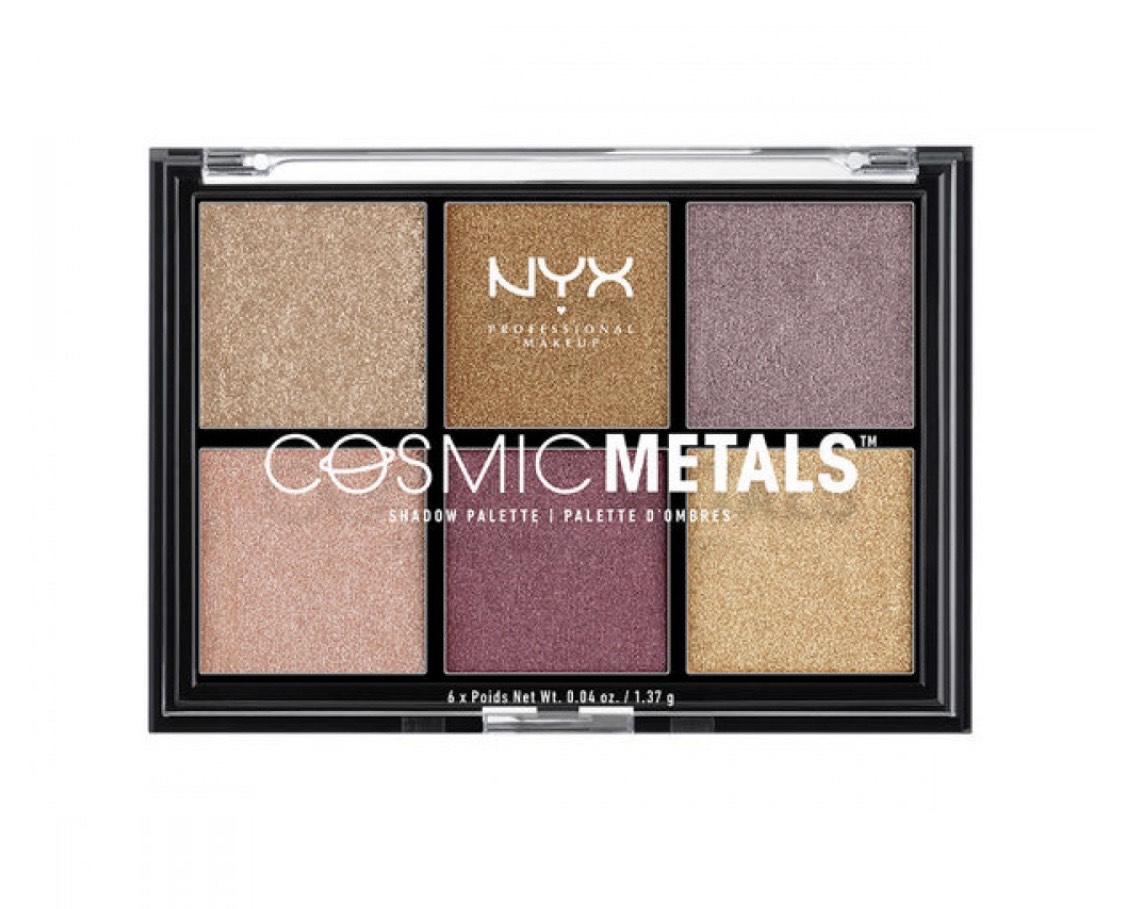 Палетка теней NYX Cosmic Metals, 740 р. (NYX)