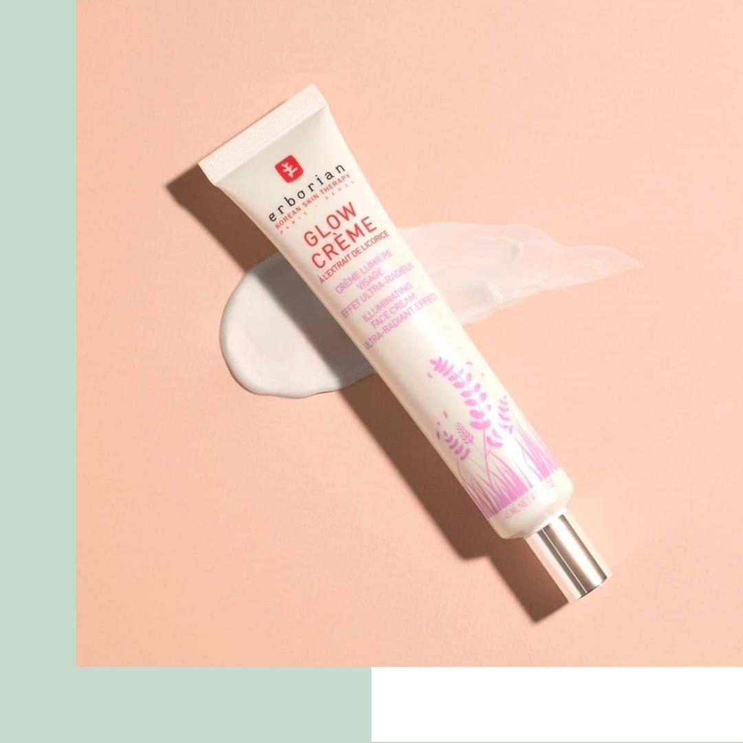 Glow крем для лица Erborian, обогащенный экстрактом лакрицы, как бы подсвечивает кожу изнутри. Фото: @ivy_beauty_store