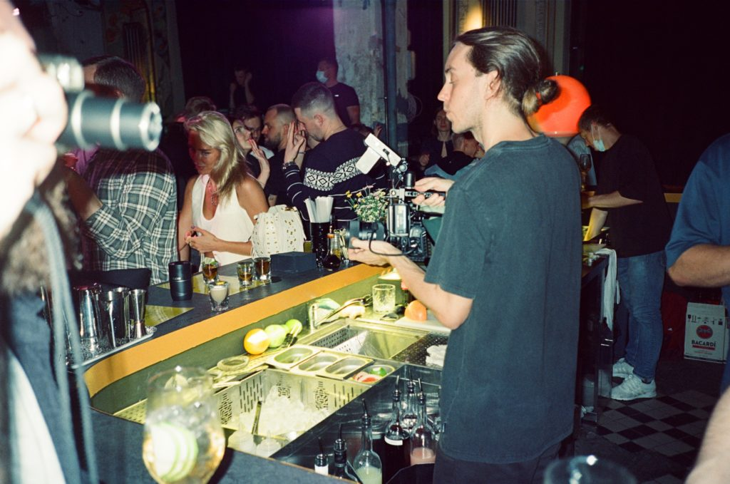 Вечеринка в баре OCSID
