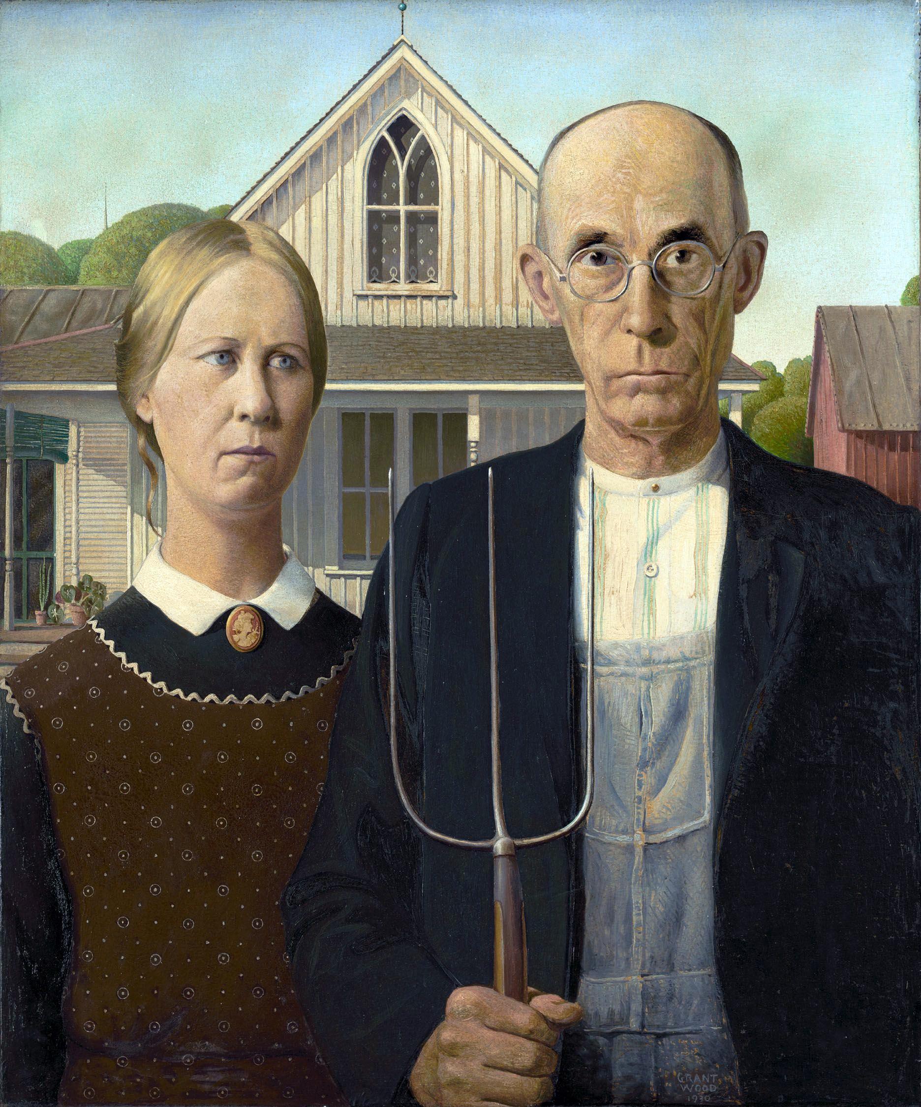 Картина «Американская готика»