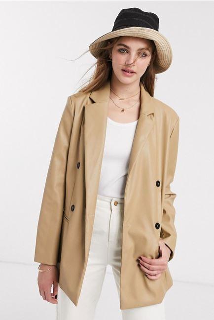 Тренд сезона: 10 кожаных пиджаков на осень