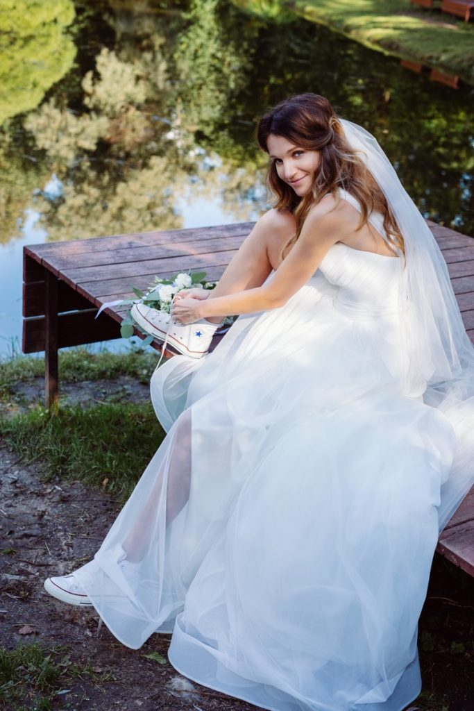 Эксклюзив PEOPLETALK: актриса Женя Малахова рассказала о своей свадьбе и показала платье