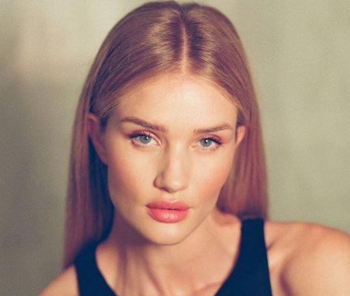 Розовый нюд и контуринг: повторяем макияж Роузи Хантингтон-Уайтли