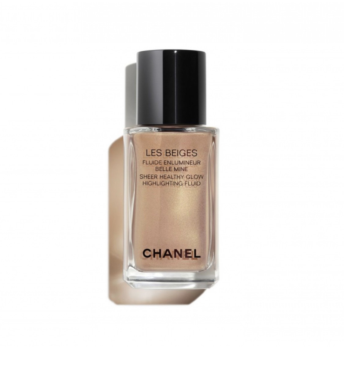 Флюид-хайлайтер Chanel Les Beiges, 2 708 р. (Золотое яблоко)