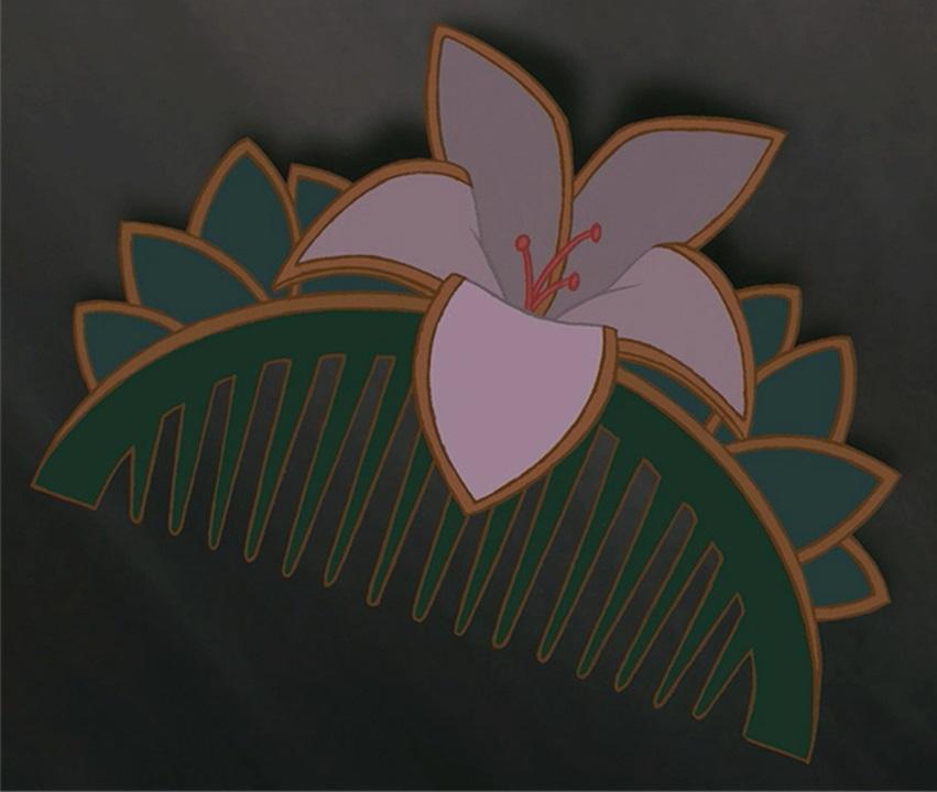 Заколка Мулан (Кадр из мультфильма «Мулан»)