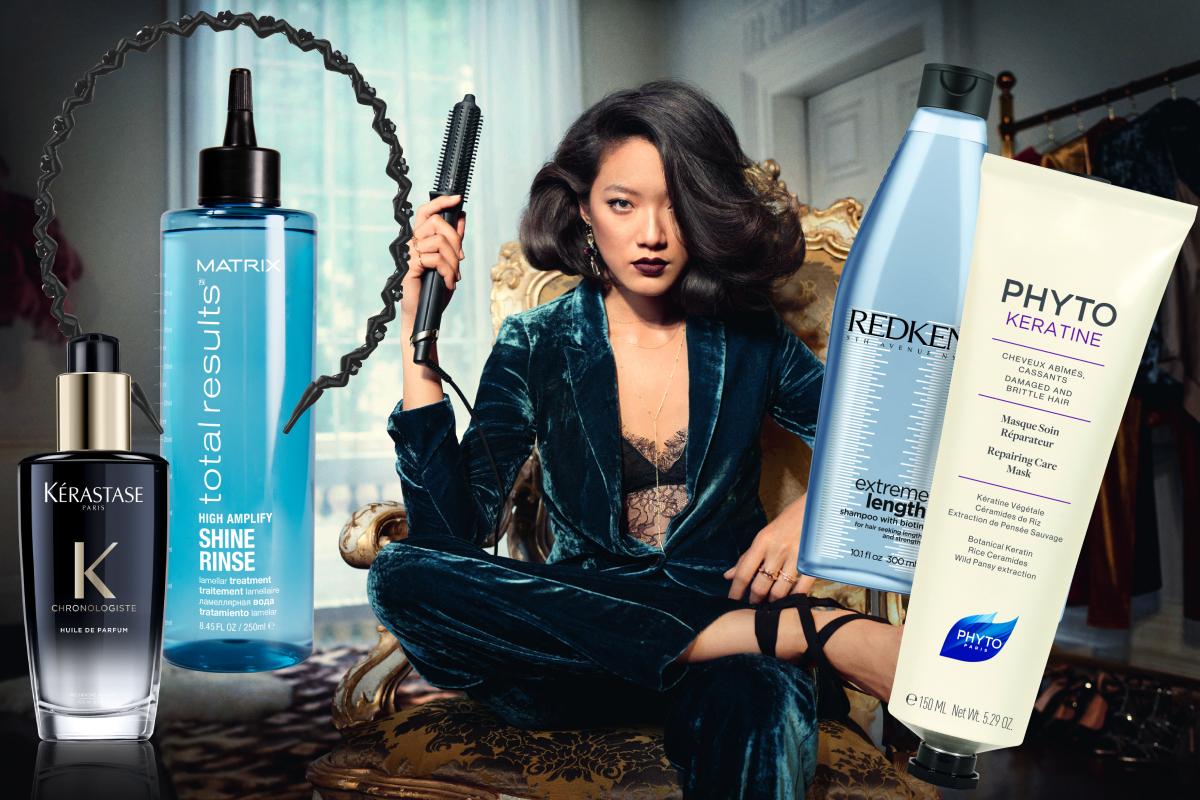 Набор для волос: какие средства пригодятся осенью