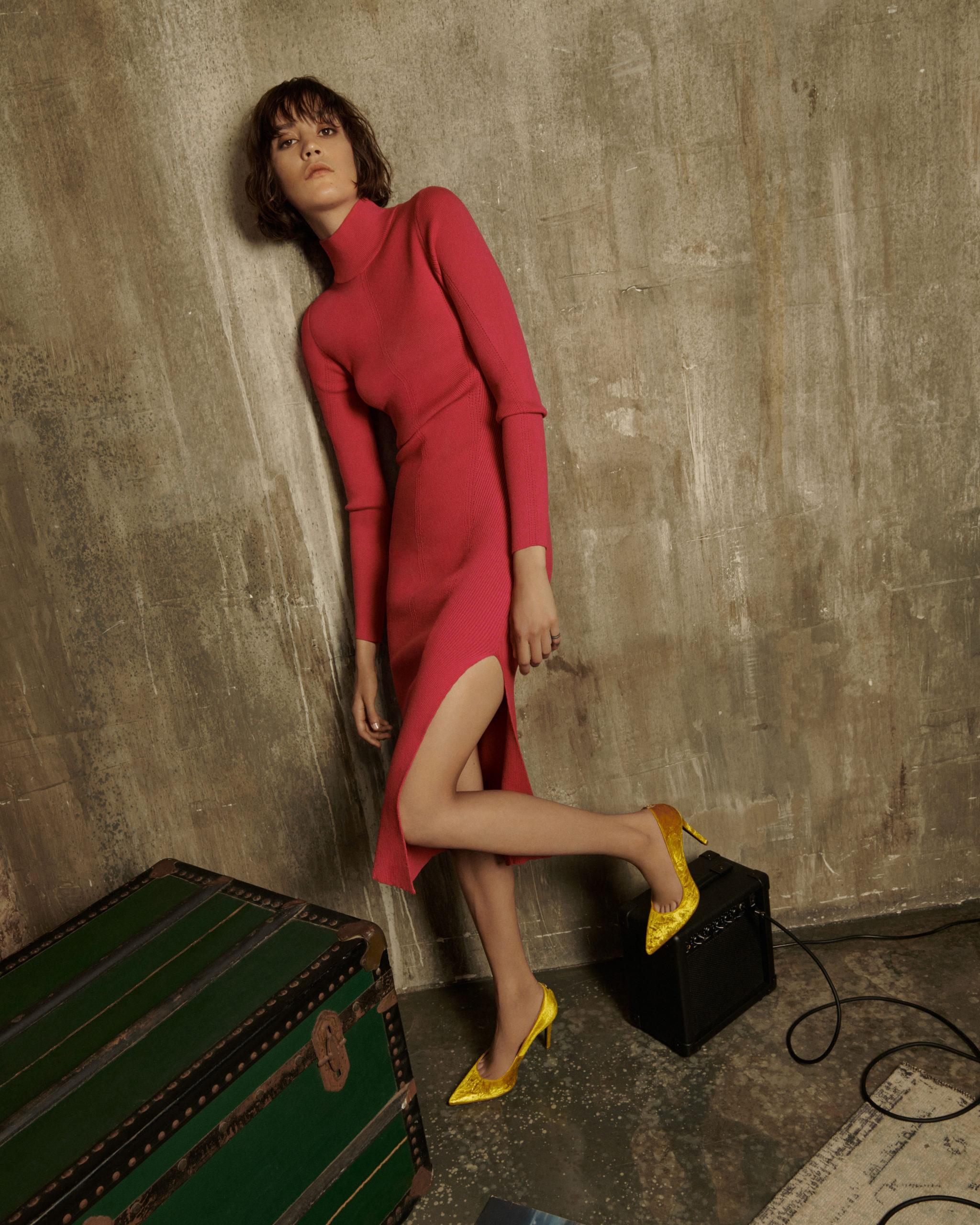 Кожаные сапоги и идеальные брючные костюмы в осенней коллекции Patrizia Pepe