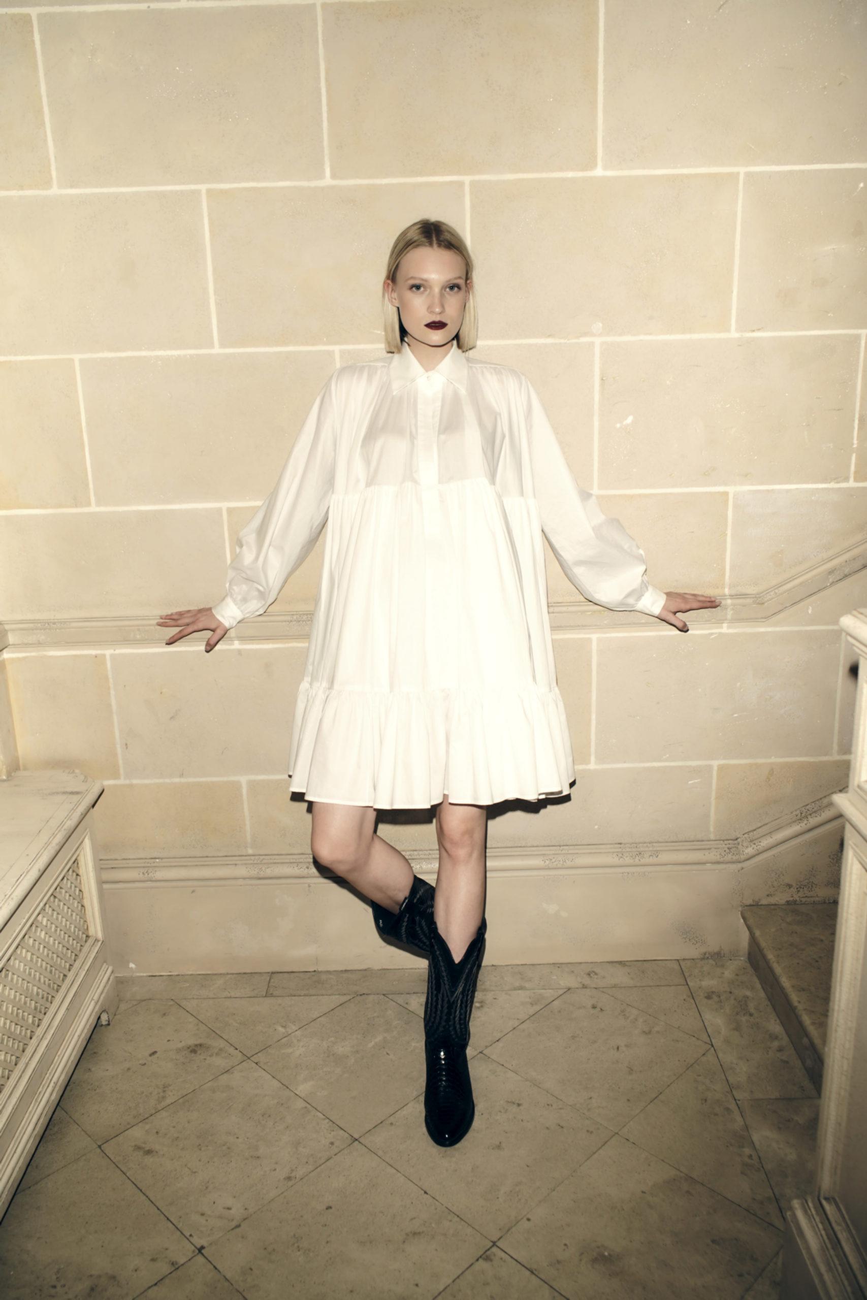 Прозрачные, кружевные и мини: идеальные белые платья в круизной коллекции anastasiAZadorina