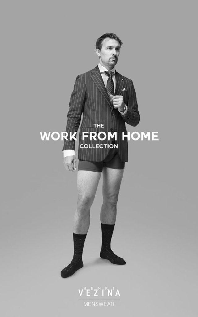 Необычное решение: как выглядят костюмы для работы на удаленке