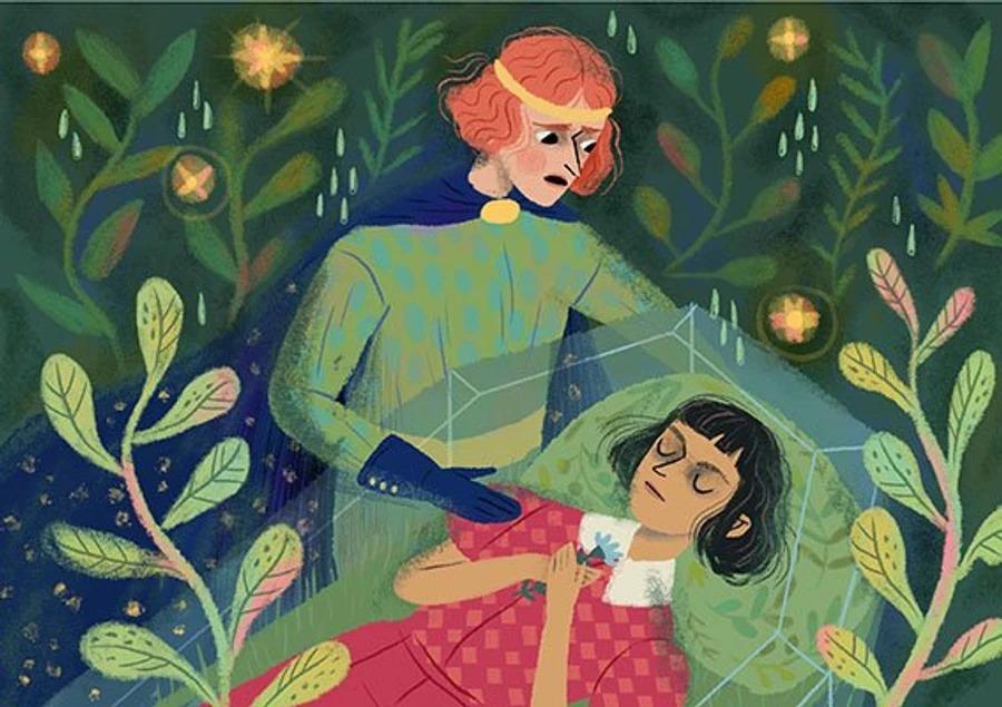 Иллюстрация к книге  «Сказка для всех»