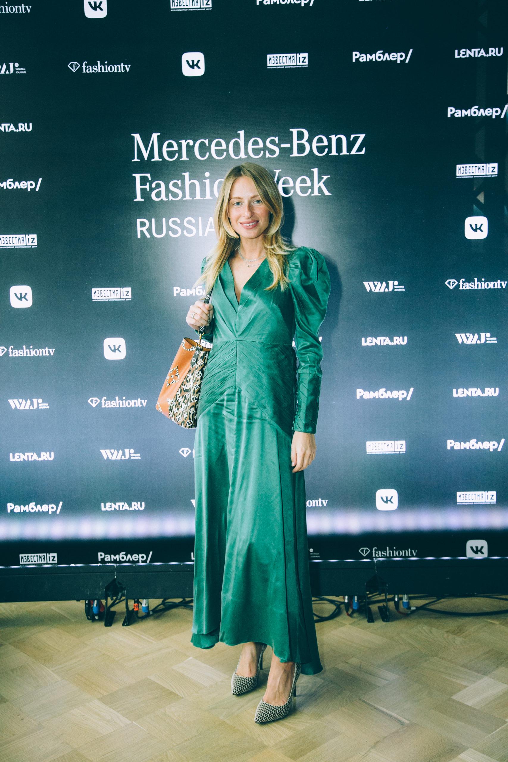 Ирина Чайковская, Александр Гудков и другие на закрытии Недели моды Mercedes-Benz Week Russia