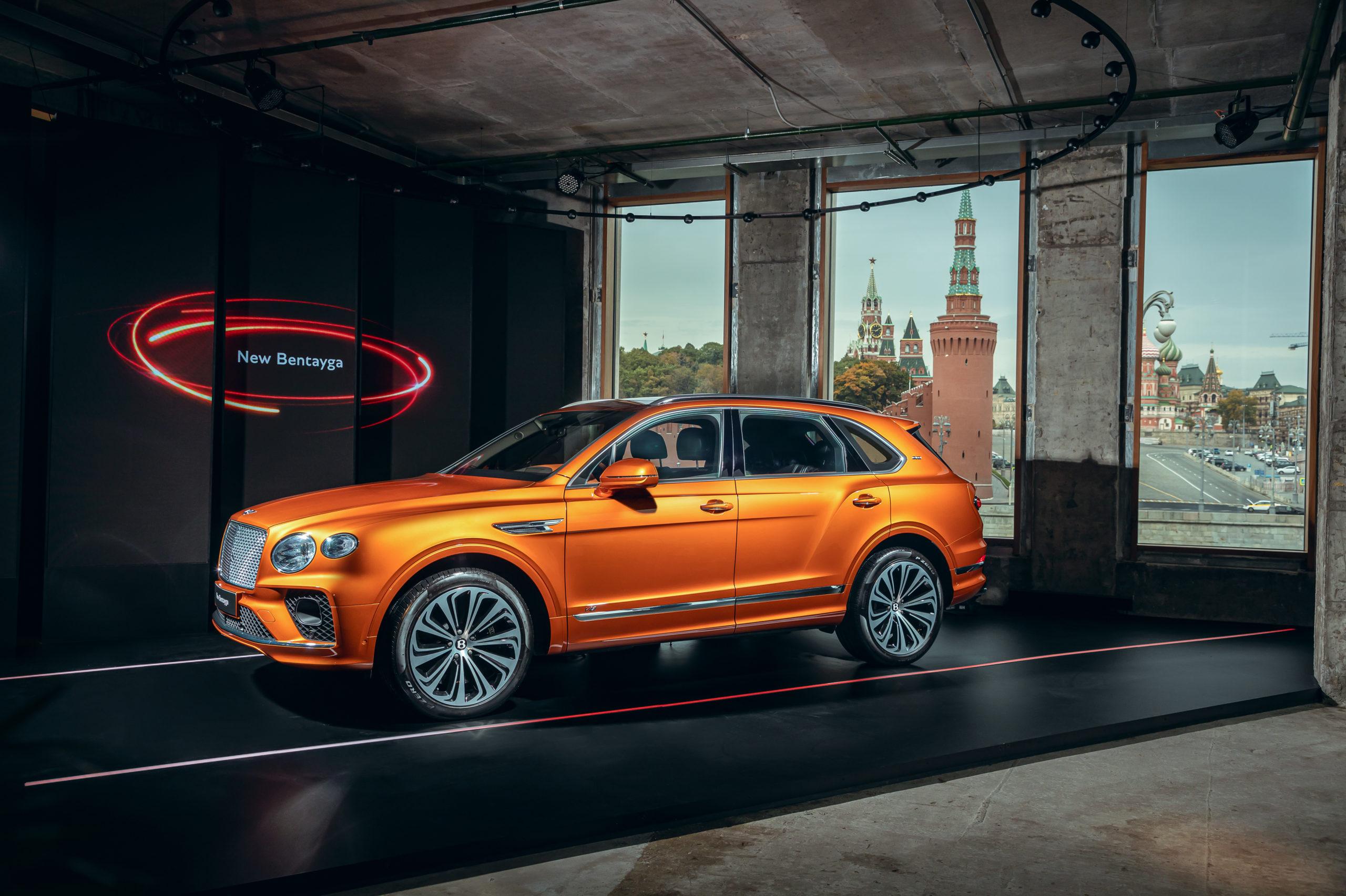 В Москве прошла премьера Bentley Bentayga: чем удивит новинка