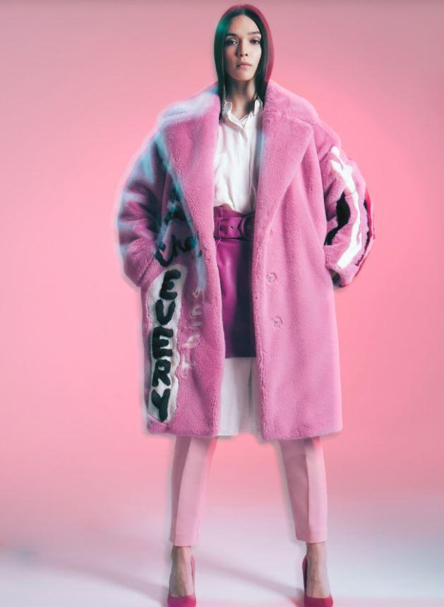 Где купить: розовую шубу, как у Егора Крида