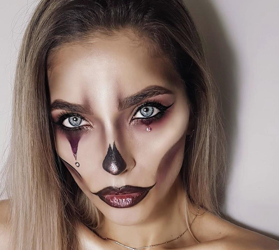 Проще простого: макияж для Хэллоуина, который займет 5 минут