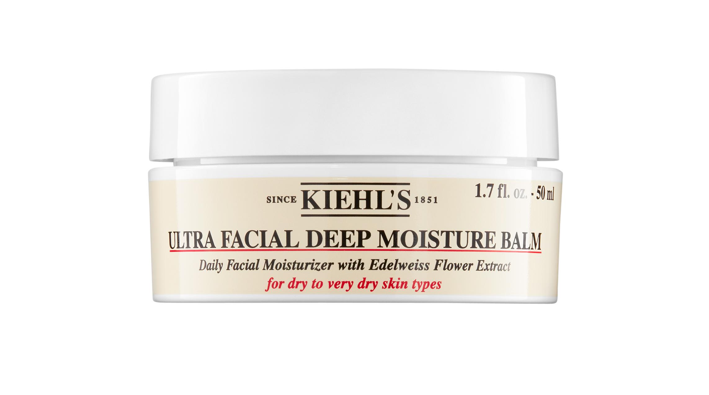 Увлажняющий бальзам для сухой и очень сухой кожи лица Kiehl's, 2490 р.