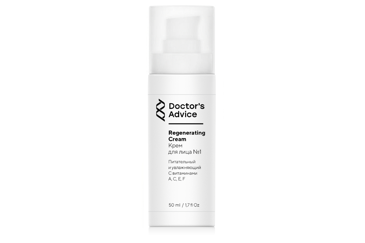 Увлажняющий крем для лица №1, бренд Doctor's Advice