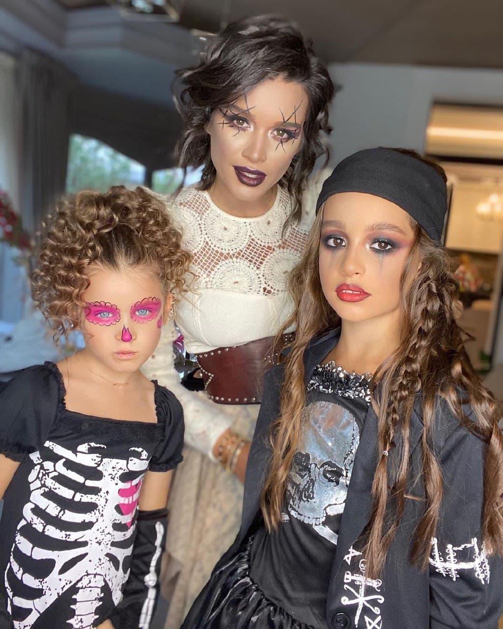 Ксения Бородина с детьми / фото: Instagram @borodylia