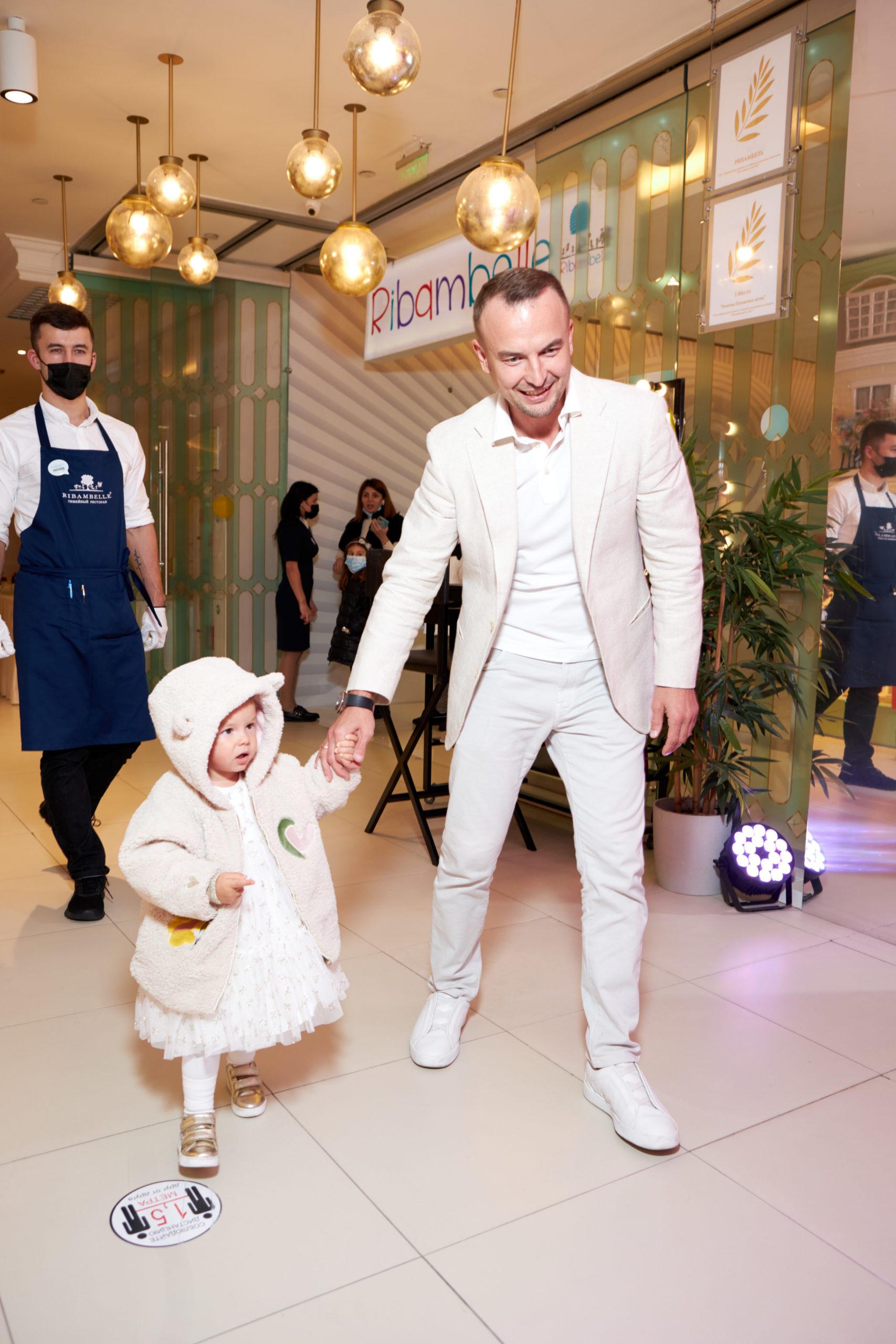 Игорь Сивов с дочерью Симбой