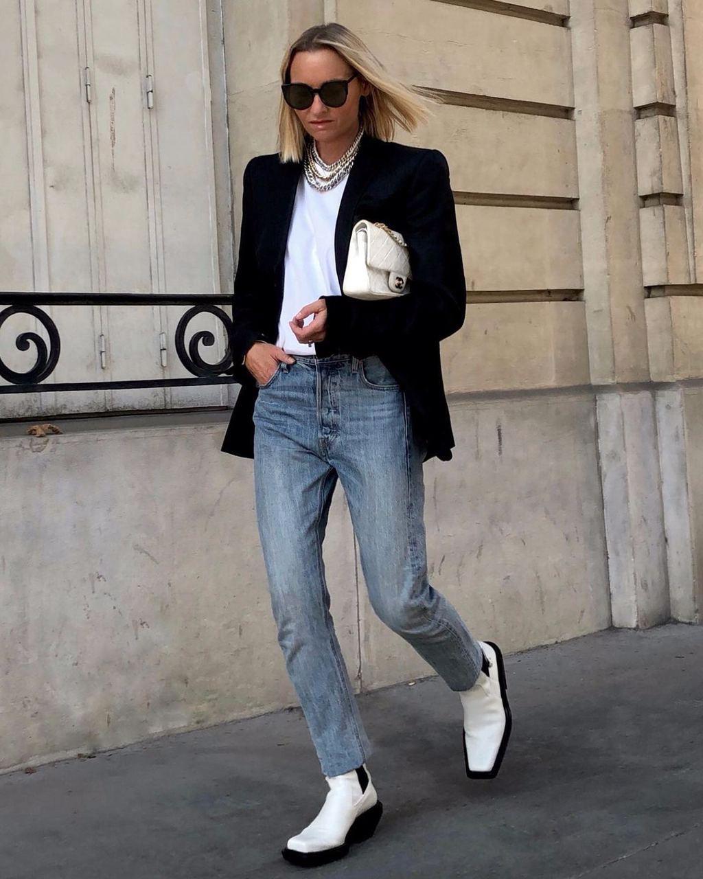 Самая модная обувь сезона: как носить челси на платформе и делать это стильно