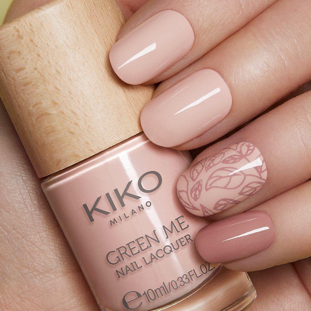 Лак New green me nail lacquer - edition 2020 KIKO Milano