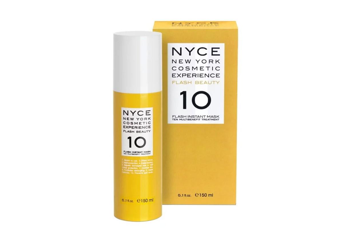 Мгновенно восстанавливающая маска для волос Flash 10 Nyce