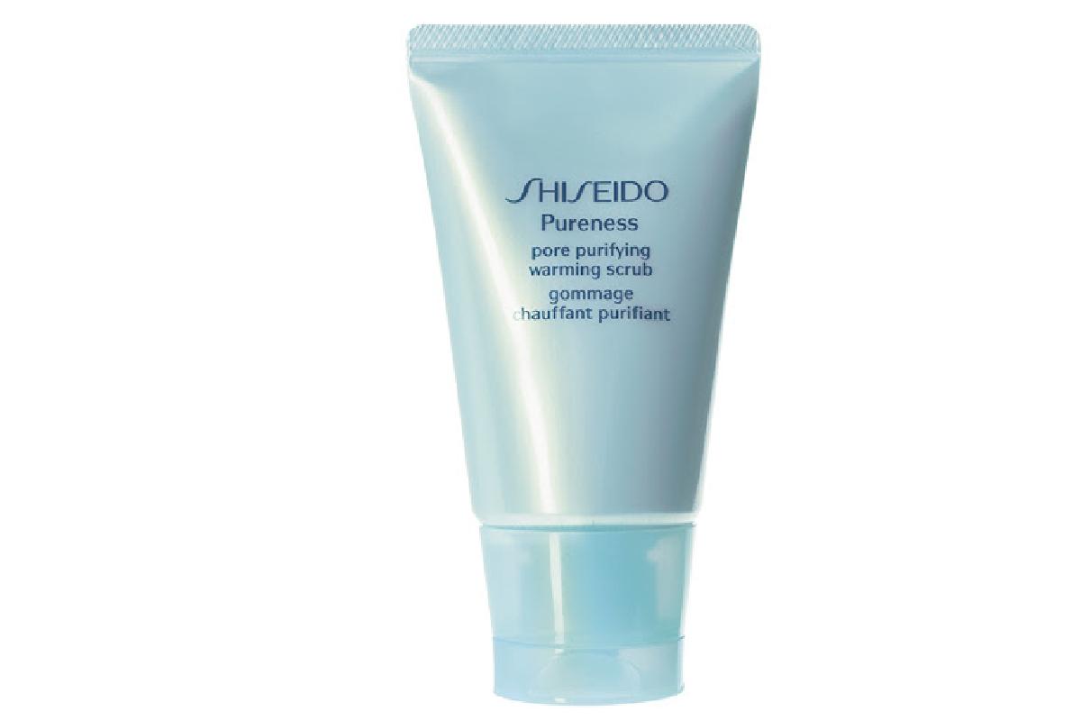 Скраб с тепловым эффектом для очищения пор Shiseido, 899 р.
