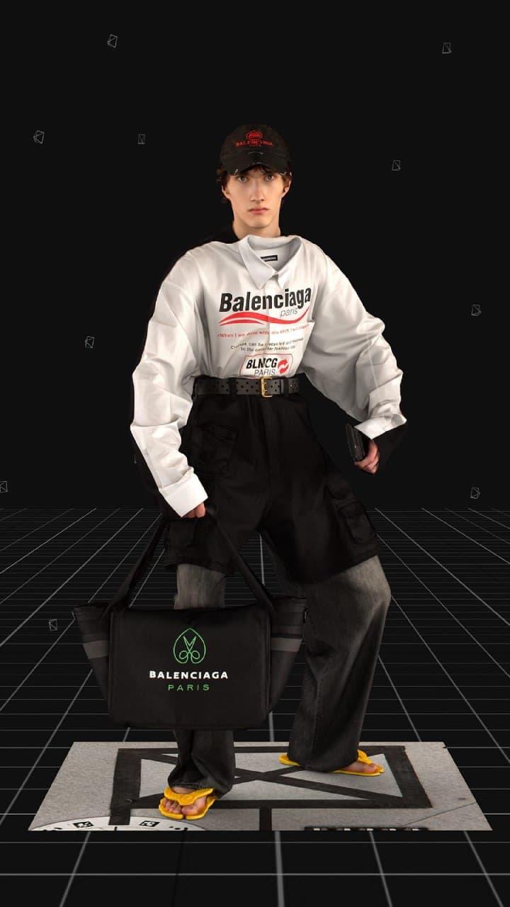 Современные рыцари в новой коллекции Balenciaga