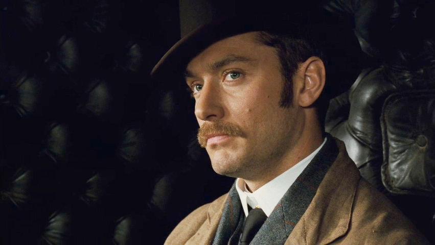 Кадр из фильма «Шерлок Холмс» (2009)