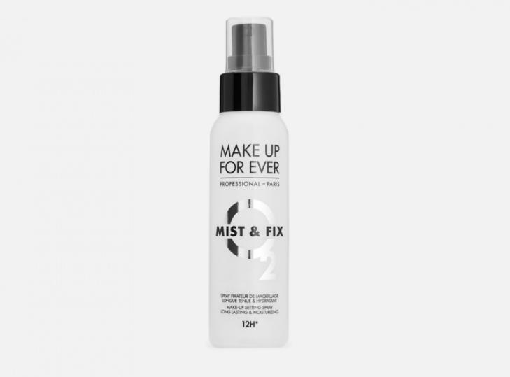 Спрей для фиксации макияжа Make Up For Ever Flashing  Sparkle  Mist & Fix