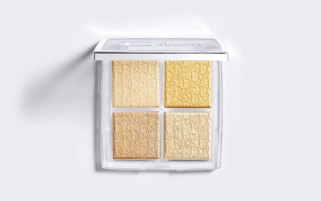 Dior Backstage Glow Face Palette Highlight and Blush Pure Gold #003