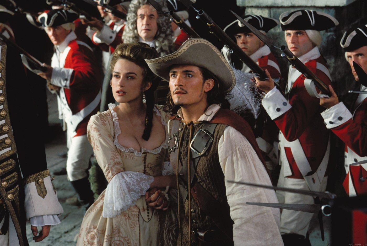 Кадр из фильма «Пираты Карибского моря: Проклятие Черной жемчужины» (2003)