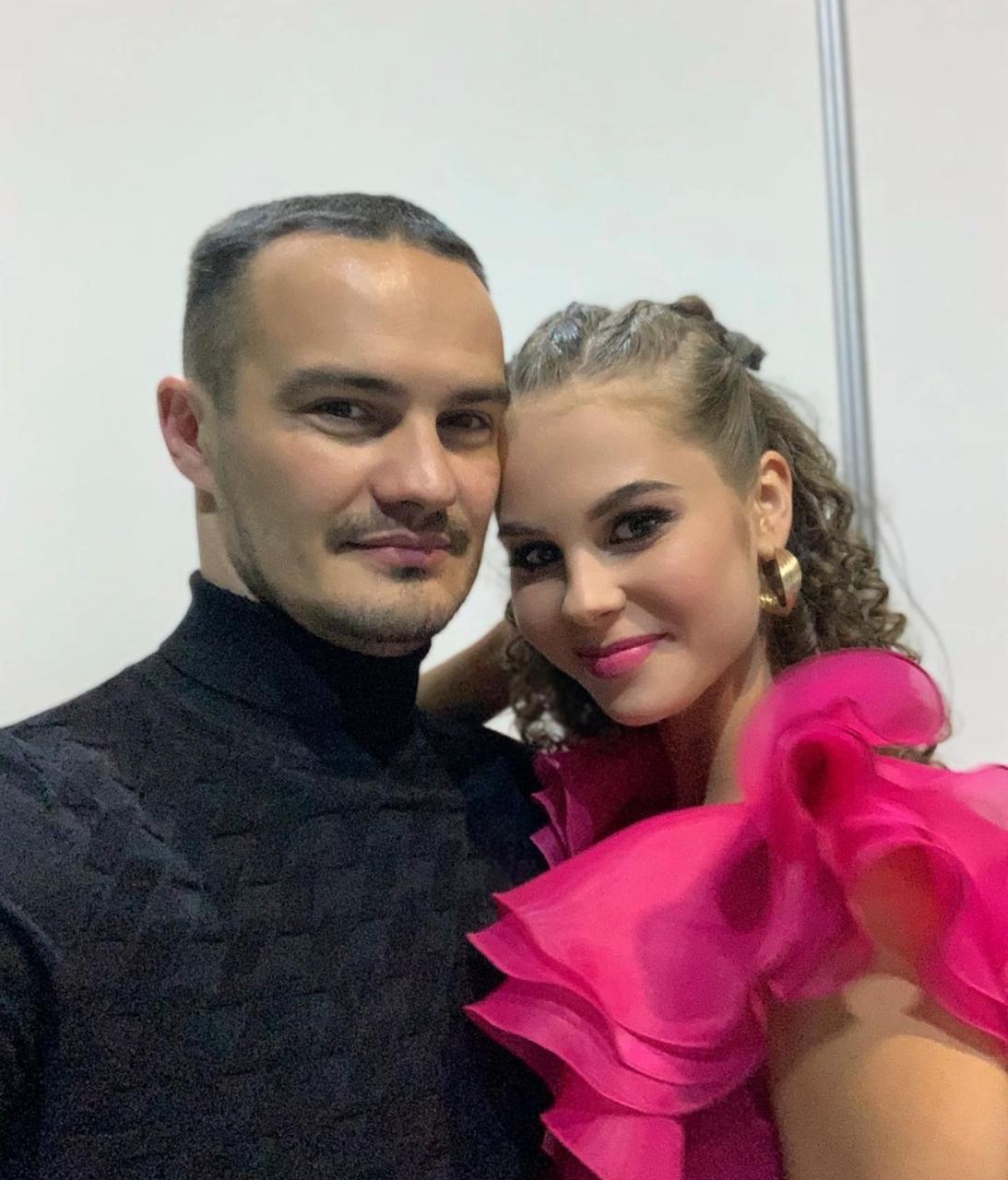 Дарья Палей с супругом (Фото: @dariia_palyey_1)