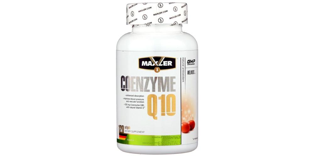 Коэнзим Q10 Maxler Coenzyme Q10 (EU), 120 капсул