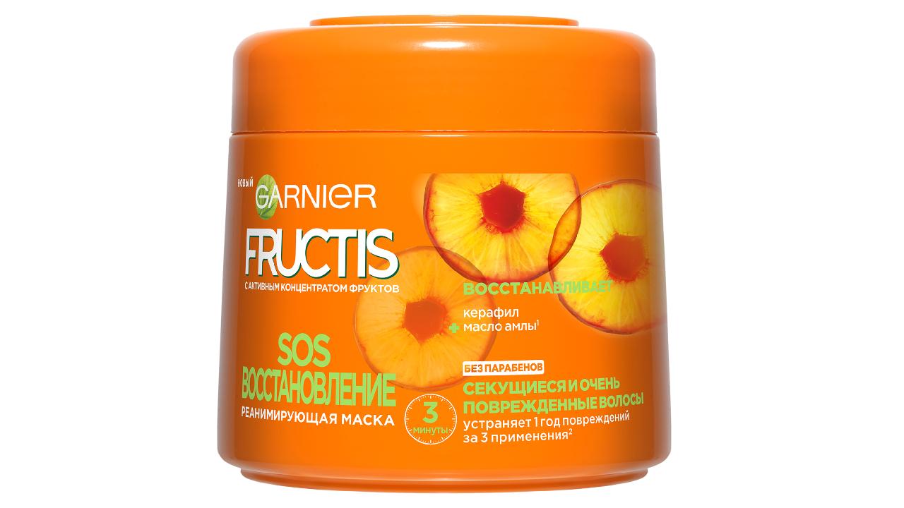 Укрепляющая маска «SOS Восстановление» Fructis
