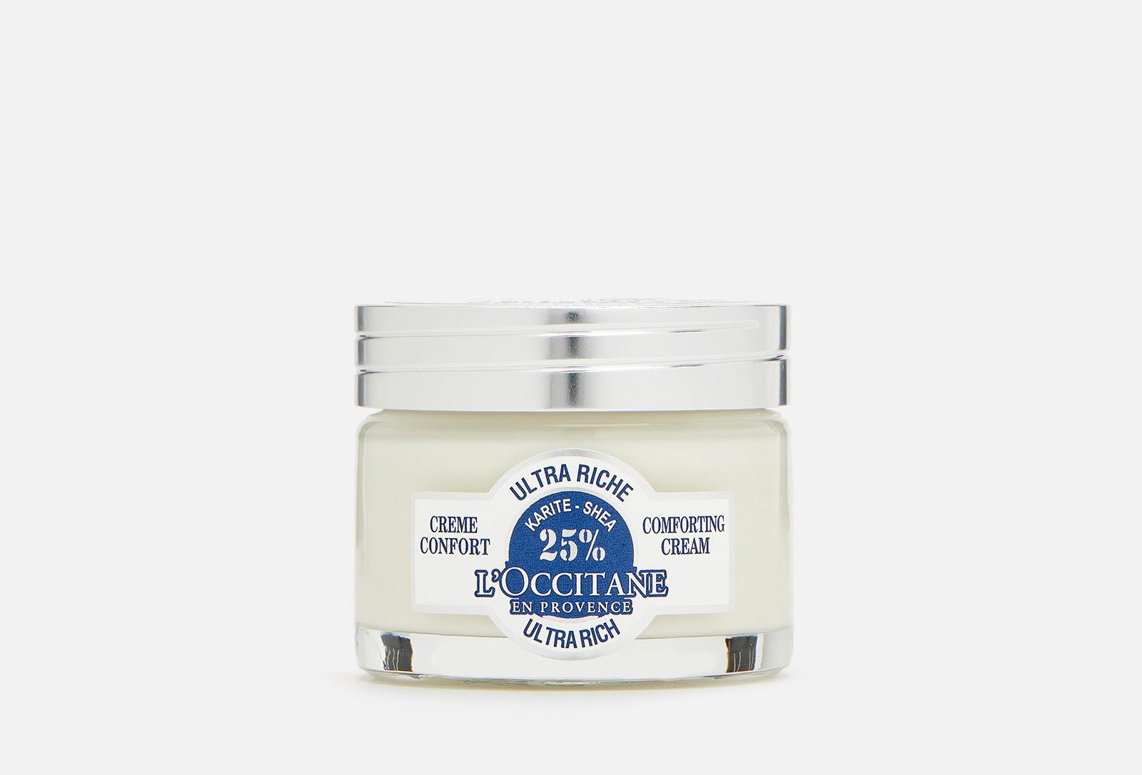 Ульратипитательный крем-комфорт для лица L'Occitane shea ultra rich, 3 200 р.