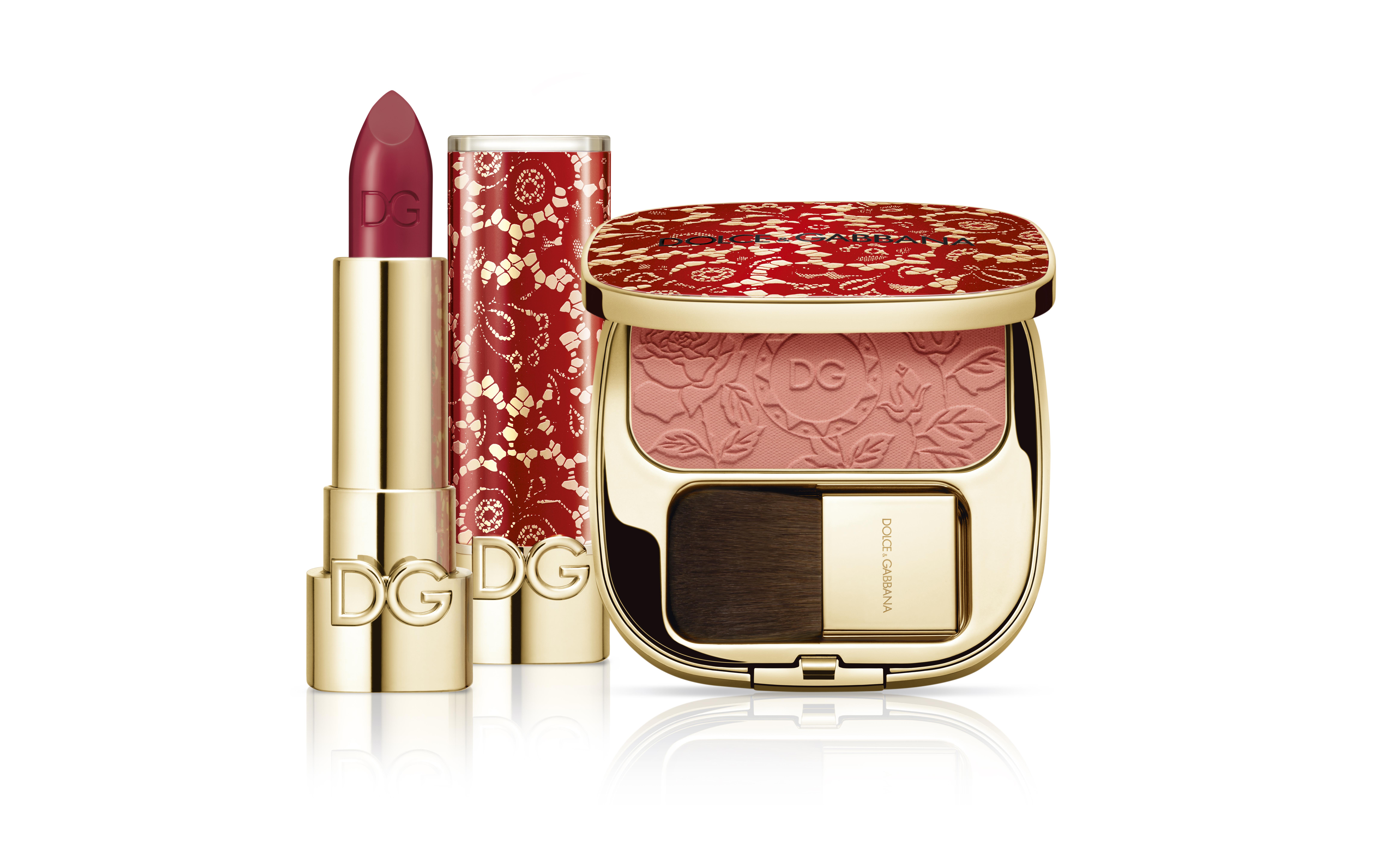 Помада для губ и румяна Dolce&Gabbana